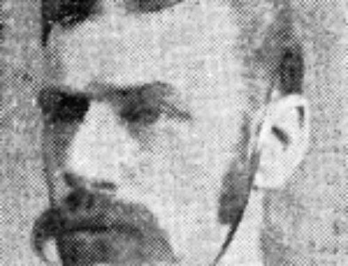 Sgt-Maj W Jordan (1852-1938)
