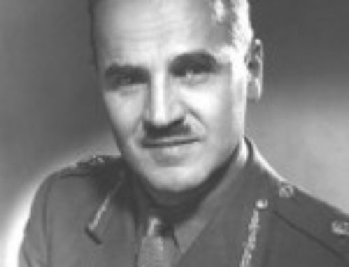 Major-General AE Walford CB, CBE, MM, ED (1896-1990)