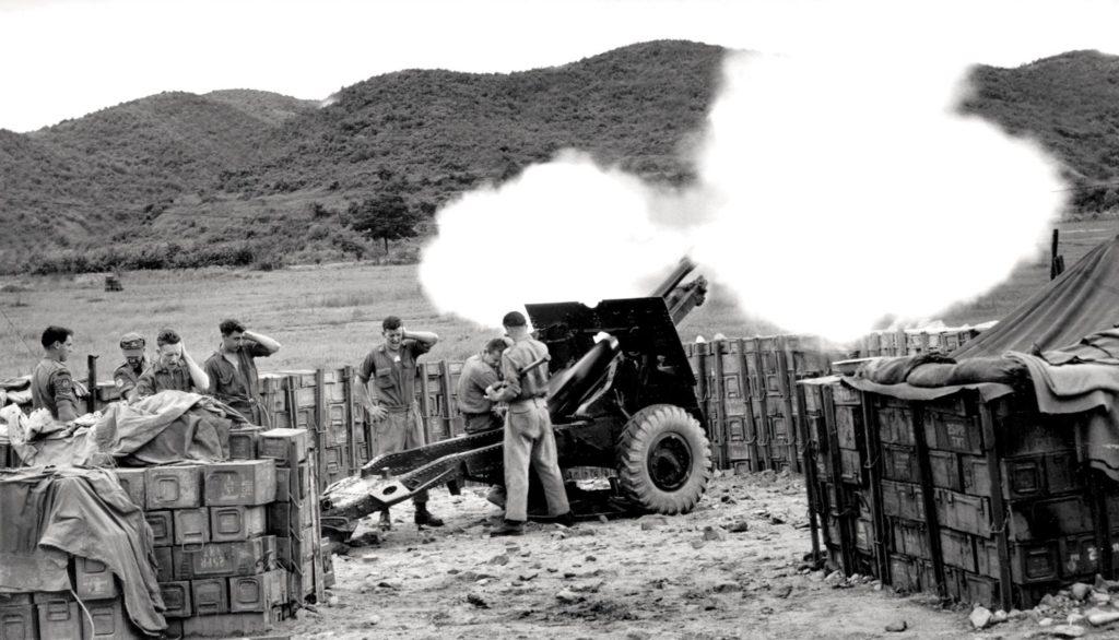 Guns during Korean War