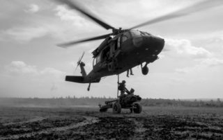 1 Fd Regt Heli Ops with LG1