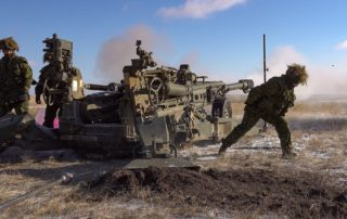 1 RCHA with M777 Howitzer