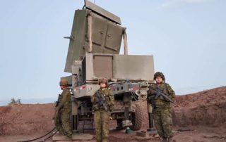 4 Regt (GS) with Medium Range Radar