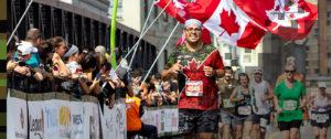 Canada army run