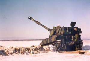 1 RCHA Winter Ops with M109A4