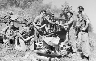 1943-B-Battery-1-Field-Regiment-RCHA-Italy