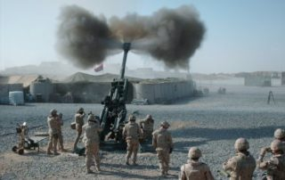 M777 Engagement Afghanistan