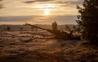M777 winter Ops Rise & Shine