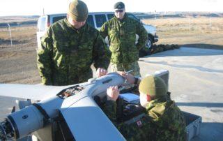 preparing the Scan Eagle