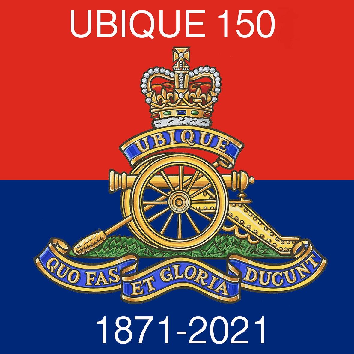 UBIQUE 150 Logo
