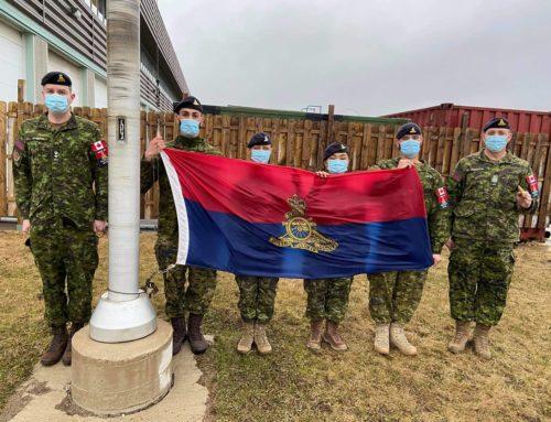 4th Artillery Regiment (GS) begins UBIQUE 150 Commemoration