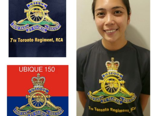 7th Toronto Regiment, RCA has formed a team to compete in the Canada Army Run!